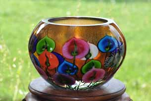 Daniel Lotton's Sunset Anthurium Bowl